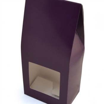 Ballotin Tapered Top Box with Window