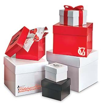 Extra Sturdy Gift Box with Lid - 6 Box/Lid Sets Per Package