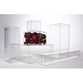 Clear PVC Box - One-Piece