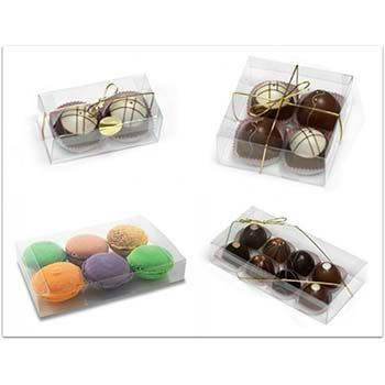 Clear Truffle Box
