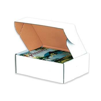 Front Lock White Mailer Boxes