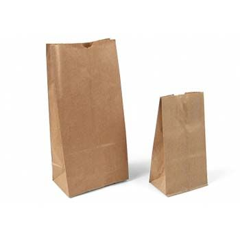 Flat Bottom Stand Up Paper Bags