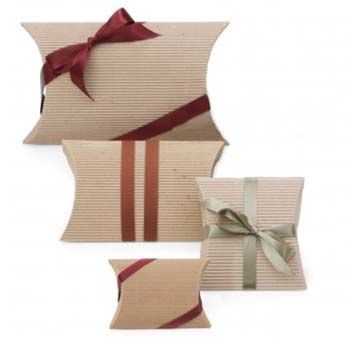 Fluted Pillow Boxes