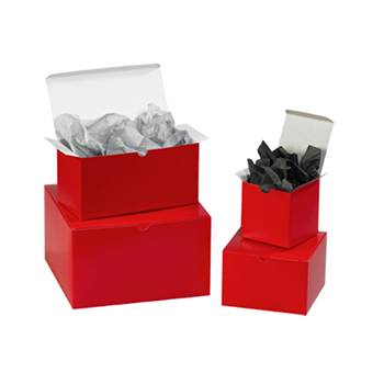 Holiday Red Gift Box
