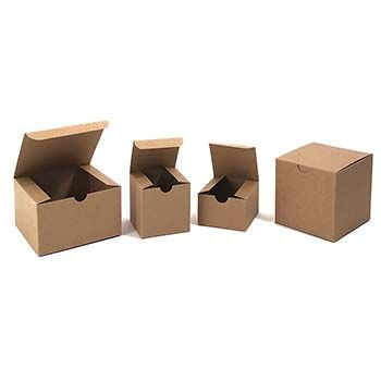 Kraft Gift Boxes - One Piece Style