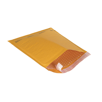 Self Seal Bubble Mailers - Kraft
