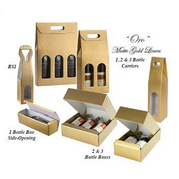 One Bottle Wine Box (Side Opening)