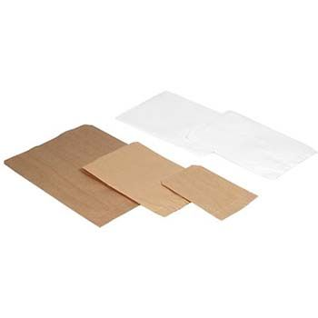 Pinched Bottom Flat Paper Bags