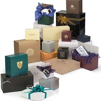 Kraft Matte Colored Gift Boxes - MADE TO ORDER