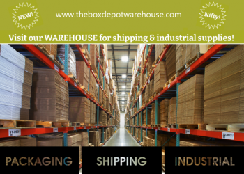 The Box Depot WAREHOUSE - Packaging, Shipping, Food Service, Industrial, Janitorial Supplies & More!