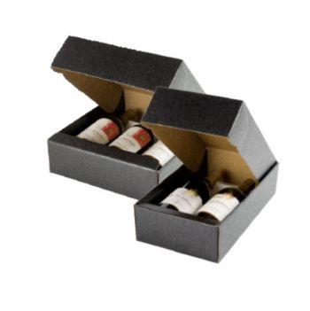 Three Bottle Wine Box (includes inserts)