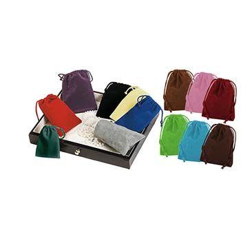 Velour Drawstring Bags