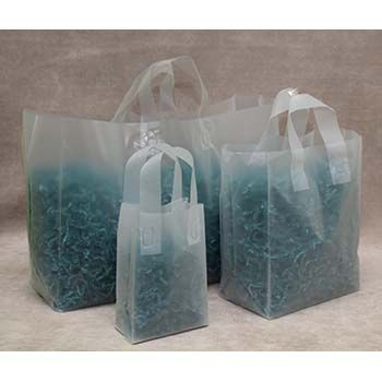 Natural Frost Soft Loop Handle Bags