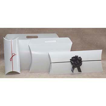 White Pillow Box
