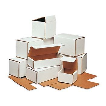 White Mailer Boxes