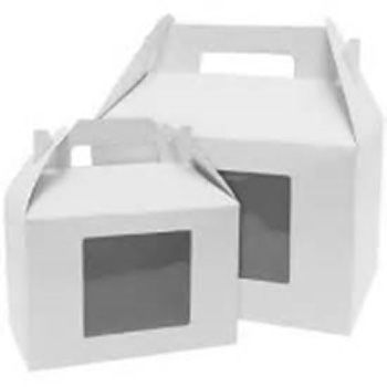Windowed Gable Box