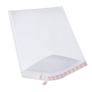 Self Seal Bubble Mailers - White